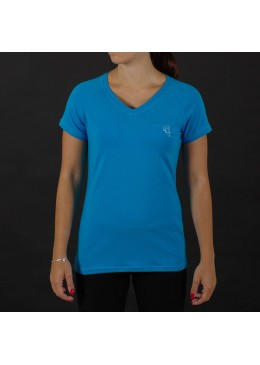 V-SHIRT FEMALE BLUE