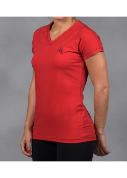 V-SHIRT FEMALE RED