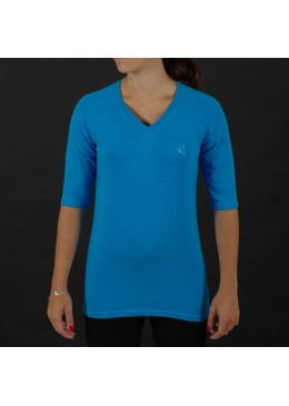 SHIRT ¾ LONG SLEEVE BLUE